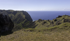 Rano Kau (blueheronco) Tags: volcano pacificocean easterisland rapanui ranokau isladepascua orongo orongovillage