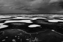 (nVa17) Tags: winter sky blackandwhite bw ice river frozen blackwhite february perm wintertime bnw blackandwhitephotography frozenriver         kamariver