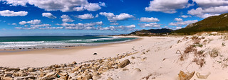 Praia de Lariño Panorama