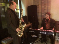 Andy Nicholls & Chris Conway @ the Cactus Cafe (unclechristo) Tags: jazz loughborough cactuscafe chrisconway andynicholls