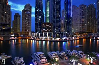The Mesmerizing Marina, Dubai