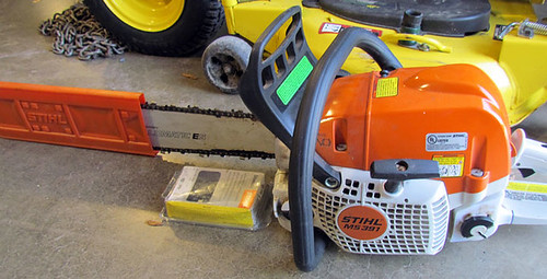 Stihl Chain Saw Model 391 - $522.50 (Sold May 22, 2015)
