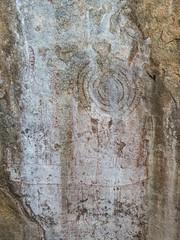 Deteriorating Panel (Makgobokgobo) Tags: africa painting misc worldheritagesite uganda kumi whs rockpainting nyero kumidistrict nyerorockpaitings