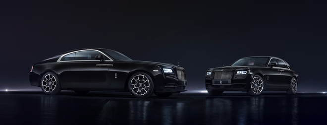 ក្រុមហ៊ុនរថយន្ត Rolls-Royce បង្ហាញរថយន្តស៊េរី Black Badge សម្រាប់ម៉ូដែល Ghost និង Wraith