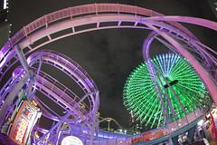 Wonder AmuseZone (spiraldelight) Tags: yokohama minatomirai   eos5dmkii tokina1017f35f45atx107dxfisheye