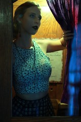 Model/Stylist/MUA: Katherine Vance (Malmeansbad.Onplanetclaire) Tags: portrait vintage hotel goth cher jeweltone warmtones hauntedhotel cooltones colorpop ladygaga