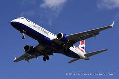 British Airways ERJ170 ~ G-LCYL ( Freddie) Tags: london londoncityairport newham e16 lcy royaldocks eglc runway27