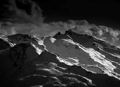 Rve de Glisse Hivernale (Frdric Fossard) Tags: ski montagne alpes lumire hiver ombre contraste neige savoie paysage tarentaise stationdeski luminosit