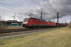 DB Cargo 189 049 + 189 046 - Rotterdam Botlek (rvdbreevaart) Tags: rotterdam siemens db botlek dbcargo br189 es64f4