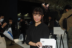 CP+ Photography Expo () Tags: woman girl japan asian photography japanese photo asia expo yokohama cp