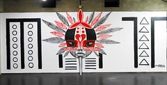 KREN FAFICH UFMG (BENET - BNT) Tags: art graffiti amor esperana rosto ancestral indgena kren ufmg benet bnt fafich