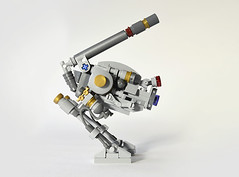 Bird Dog (Side) (Klikstyle) Tags: robot lego military future laser mech