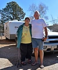 Kathy & Ed (Happy Birthday To Me :)) Tags: trip friends car ed leaving kathy rv camper