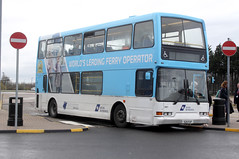 2016-04-05 524 FUP Dennis Trident-East Lancs 3867 of Go North East, North Shields Ferry Terminal (John Carter 1962) Tags: bus buses dfds gonortheast
