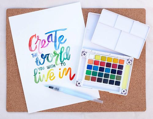 Gift Winner — Sakura of America, Koi® Water Color Field Sketch Kit