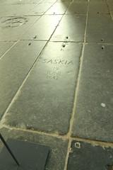Saskia's grave, Oude Kerk (firepile) Tags: amsterdam oldchurch oudekerk