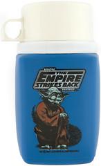 1981 Empire Strikes Back thermos (Tom Simpson) Tags: illustration vintage starwars yoda 1980 1980s thermos theempirestrikesback