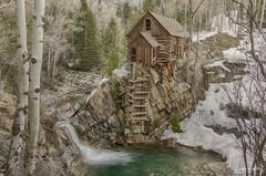 Crystal Creek Mill (Lake Vermilion1) Tags: winter snow river landscape nikon colorado rustic historic his gitzo reallyrightstuff d810 lakevermilionphotos crystalcreekmill