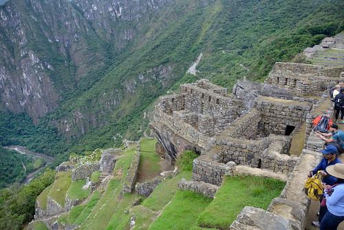 Ruins on eastern edge of Machu Picchu in Peru-01 5-25-15