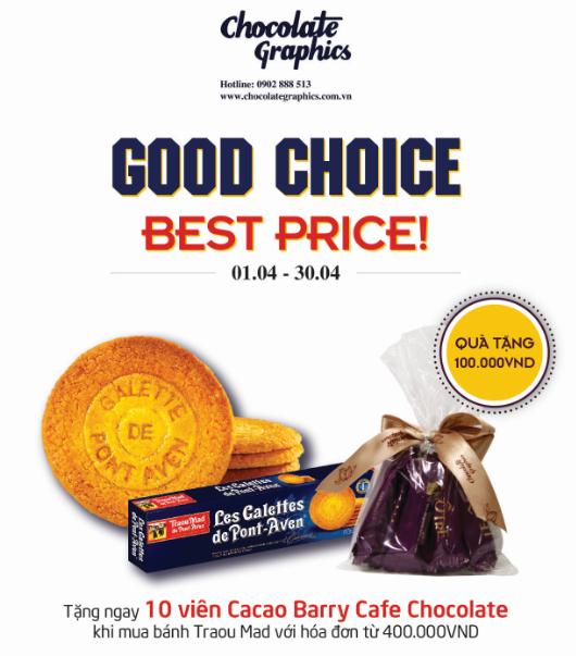 Chocolate Graphics nhân 3 niềm vui