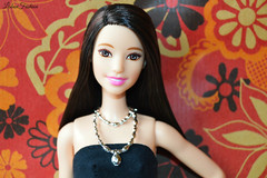 Amelie (Lisbon_Fashion_Dolls) Tags: barbie blackdress barbiedoll barbiecollector barbiehair hairdoll barbiefashionistas