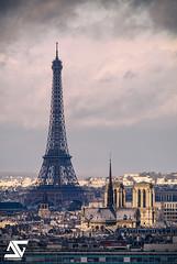 Old ladies II (A.G. Photographe) Tags: paris france french nikon europe eiffeltower notredame cathdrale toureiffel ag capitale nuage franais parisian anto 15000 xiii parisien nuageux pluvieux sgma d810 antoxiii agphotographe