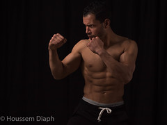 Safe (H.Diaph) Tags: man sexy men big fighter muscle chest handsome cocky arab arabe boxer strong abs shredded boxe chiseled abdominaux