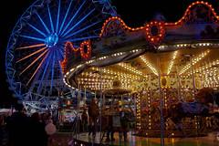 Carrusel (Vanessa Toro Macas) Tags: lights luces sevilla abril feria colores seville april noria tiovivo atracciones feriadesevilla feriadeabril calledelinfierno