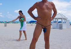blue black baggie bkl strap mb (bmicro2000) Tags: man male beach outdoors thong tiny gstring teardrop baggie manthong minimalswimwear microkini thongman microbeachwear