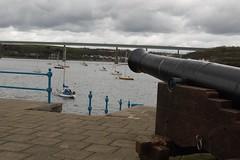 Hobbs Point Pembroke Dock (stevemcdowell184) Tags: bridge water canon boat moorings
