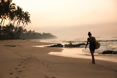Sr Lanka ((Do.Sebe)) Tags: beach water sport sunrise relax sand asia surf surfspot srlanka ocen