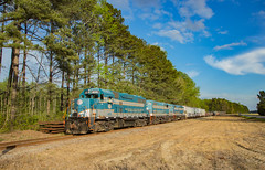 AR 405 Dunderrach NC 11 Apr 20163 (Train Chaser) Tags: norfolksouthern aberdeenrockfish ar405