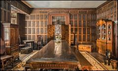 Oak Room, Abington Abbey (Darwinsgift) Tags: park color abbey museum lens oak northampton nikon interior room voigtlander 28mm indoors f28 hdr sl2 abington skopar colorskopar d810 slii