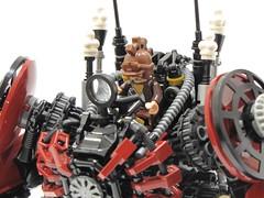 Mark Alpha3 - Cockpit (poltexius) Tags: lego ironman steampunk moc hulkbuster