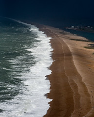 87/366 Storm Over Chesil - 366 Project 2 - 2016 (dorsetpeach) Tags: sea england storm beach portland dorset 365 swell chesilbeach 2016 366 aphotoadayforayear 366project second365project