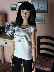Bonjour Paris! (Levitation_inc.) Tags: paris fashion french toys doll dolls handmade ooak levitation clothes poppy chic royalty parker integrity fr2 nuface