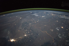 Observing #Earth - ISS Expedition 45 (NASA's Marshall Space Flight Center) Tags: pakistan india earth science marshall nasa earthday indusriver internationalspacestation indusrivervalley earthmonth nasamarshall issspace nasasmarshallspaceflightcenter