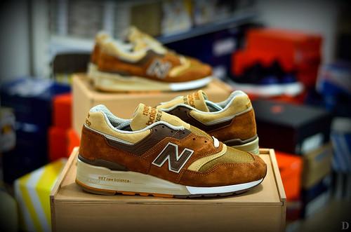 New Balance 997 Butterscotch