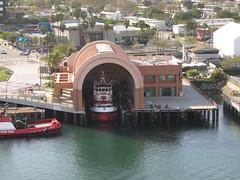 Ruby Princess - Sea of Cortez Cruise (Jasperdo) Tags: california cruise building architecture cruising firehouse sanpedro fireboat losangelesharbor princesscruiseline rubyprincess