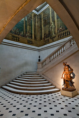 Carnavalet (BeauHindlet) Tags: sculpture paris france stairs patterns paintings musee revolution carnavalet