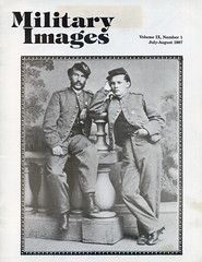 Military Images magazine cover, July/August 1987 (militaryimages) Tags: history infantry mi america magazine soldier photography rebel us marine uniform photographer unitedstates military union navy archive confederate worldwari civilwar american weapon tintype ambrotype artillery stereoview cartedevisite sailor ruby veteran roach daguerreotype yankee cavalry neville spanishamericanwar albumen mexicanwar coddington backissue citizensoldier indianwar heavyartillery matcher findingaid militaryimages hardplate