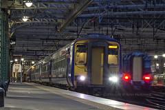 156474 5A35 (Rossco156433) Tags: electric train scotland diesel glasgow engine siemens scotrail emu motor sprinter dmu nederlandsespoorwegen glasgowcentral desiro supersprinter class156 abellio 156474 class380 380109