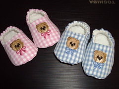 baby shoes (delsdesignz) Tags: baby shoes handmade embroidered