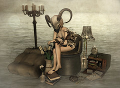 09.04.16 - Your creature (rainbowmubble) Tags: secondlife vespertine keke meva belleepoque zerkalo katat0nik theepiphany themensdepartment kalopsia deathrowdesigns collabor88 hairology thechapterfour cerberusxing mithralapothecary nefariousinventions vilecult theprojectse7en thegachaguardians