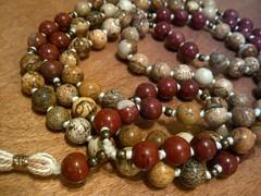 12311258_1573004283015945_2602158143673198434_n (innerjewelz@rogers.com) Tags: handmade traditional jewelry jewellery meditation custom mala 108 mantra intention knotted japamala innerjewelz