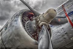 Pratt and Whitney (Col Turner) Tags: canon airport force wasp aircraft air australian royal twin aeroplane whitney historical restoration canberra society dc3 dakota raaf radial c47 pratt pw hars r1830 yscb