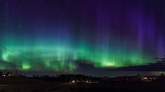 Spring Aurora (T. Kristensen) Tags: canon lights sigma aurora northern akershus borealis nordlys eidsvoll 500px sleia ifttt