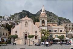 Main Square, Taormina ... (junepurkiss) Tags: italy sicily taormina mainsquare