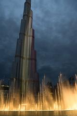 The Dubai Fountains (matthewnaylor1) Tags: city water photography dubai burjkhalifa