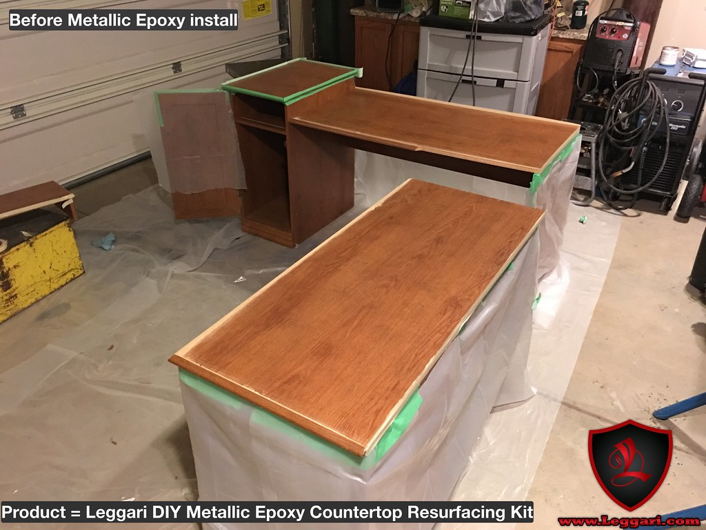 #unlimited Install Techniques When Using #leggariproducts #metallic #epoxy # Countertop #kits